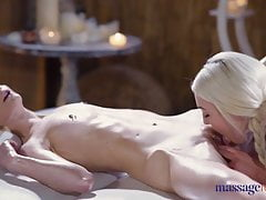 Massage Guest Rooms Ash-blonde Dolls Mia Casanova And Lovita Destiny Sen