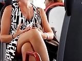 Horny Milf on Bus