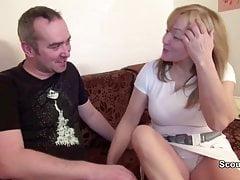 Mamma e papà tedeschi in private casting porno