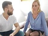 Stunning Divorced MILF Takes Amazing Creampie By Neighbor
