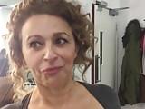 Big Boobs British Celebrities video: Nadia Sawalha Flashing Big Tits