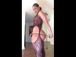 Black And Ebony Amateur Striptease vid: Lust Demon-IG Thot