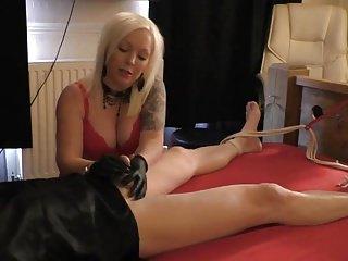Amateur Femdom video: Orgasm after  5 months denail