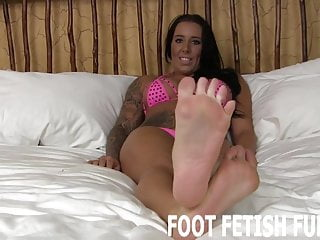 Lingerie Bdsm porno: My feet will make your dick so hard