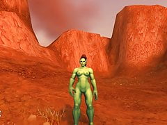 Warlords of Draenor Nude Patch Horde & neutre