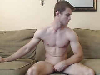 Cute Guy Fucks Himself With A Dildo & Jerks Off 'Til He Cums