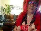Diana en tenue de carnaval