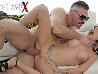 TOUGHLOVEX Tiny Trinity St Clair wrecked by a big dick