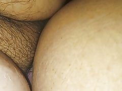 Big Bum Wifey Penetrated By Petite Stiffy Spouse Close View