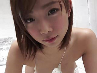Babes Stockings Softcore video: Balloon Play - Cute Asian Girl Striptease