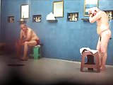 NUDE MEN AT BATHS