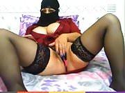 Hijab pussy play