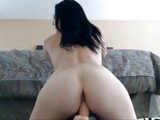 Girl Farting Dirty Talk video: Girl farting as she rides her dildo