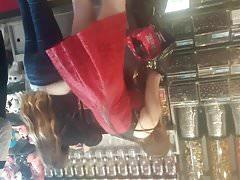 Grupos de vestido rojo