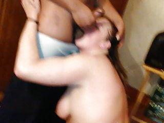 Gangbang Blowjob video: Aunt Pulling Train BROCKTON ROX