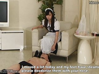 Japanese Bdsm Femdom video: MLDO-156 Man Punished by Maid