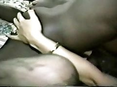 White MILF gets double-teamed by black bulls