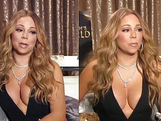 Celebrities Big Natural Tits Titty Fucking video: Mariah Carey