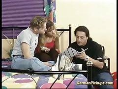giovane coppia tedesca prelevata dalla strada
