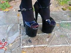 Lady L High Heels Crashglas