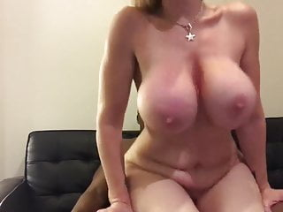 Hardcore Big Tits Big Ass video: Big booty blonde rides BBC for the fans
