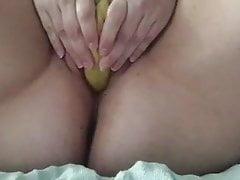 Une pute pompée a faim
