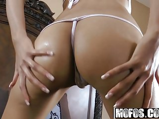 Pornstars Babes Sex Toys video: Mofos - Shes A Freak - Athena Amour - Backyard Fun