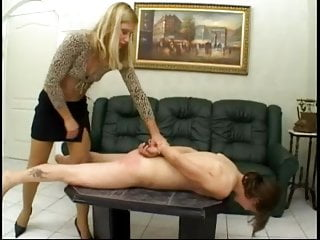 Femdom Lesbian Slave video: Lezdom - Mistress and skinny slave 1