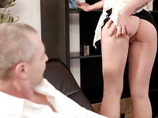 Matures Oldyoung Dad video: OLD4K. She is so sexy in this short skirt