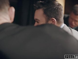 Teen Small Tits Blowjob video: PURE TABOO Escort Humiliated by Businessmen -Public Fuck