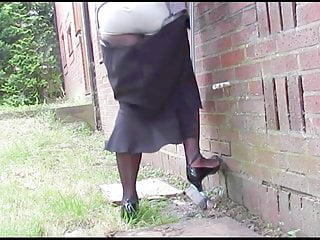 Amateur Shemale Lingerie Shemale Outdoor Shemale video: Oops Suspenders 1382H