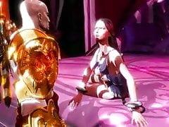 bůh války 3 Kratosova kapka s Afroditou