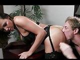 Sexy boss demands a fuck
