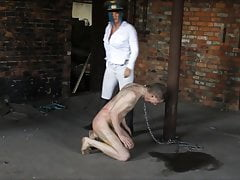 Pani Vexxa. Hard Whipping At The British Institution