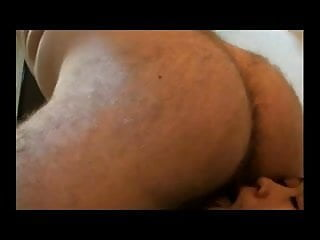 Rimming daddys ass and licking balls