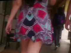 Uff obrovský prdel za těmito šaty Sukně široký Boky Pas