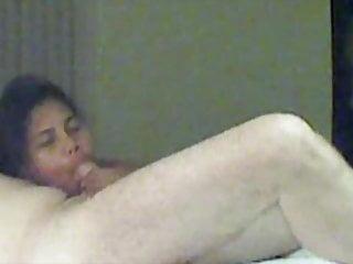 疲憊的泰國妓女被大德國公雞性交