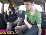 Female Fake Taxi Shy cheating boyfriend fucks blonde
