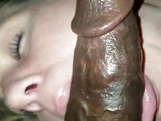 Blowjob Big Tits Milf video: Blonde mature slut sucks BBC