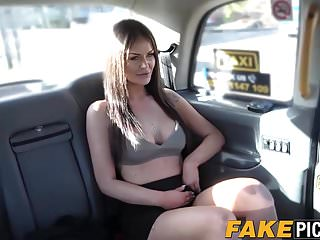 Lesbians British Spanking video: Lesbian taxi MILF is hot and horny for some delicious pussy