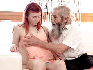Matures Oldyoung Dad video: DADDY4K. Unexpected experience with an older gentleman