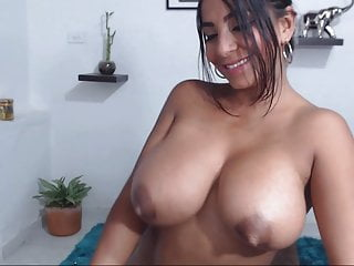 Flashing Big Tits Webcam video: Beautiful boobs