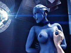 Liara Tsoni solo quiere divertirse (Mass Effect)