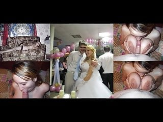 Blowjob Big Cock Compilation video: married wives wedding dress compilation before during after