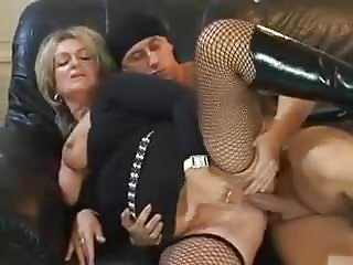 Oldyoung Grannies Stockings video: Euro Gilf & Young Stud Fuck