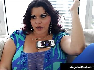 Bbw Fucked Hard video: Massive Boobed BBW Angelina Castro Fucked By A Big Hard Cock