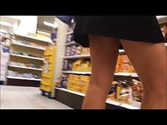 sexy legs and upskirt spyshot