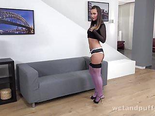 Masturbation Closeups video: Wetandpuffy - Sensuous Stockings - Masturbation