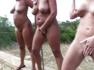 GERMAN MOTHER PEE and PISS on Teens and Guys Compilation