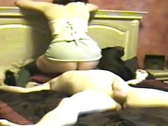 PAWG Orgasmo in posizione seduta